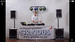 Ди-джей музыкант DJ музыка на свадьбу выпускной корпоратив