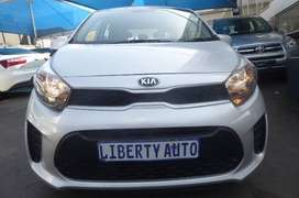 2017 #Kia #Picanto 1.0 30,000km #Hatch, 5 Forward Manual, Cloth Seats,