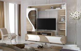 Горка Акварель, стенка в гостиную, тумба под телевизор
