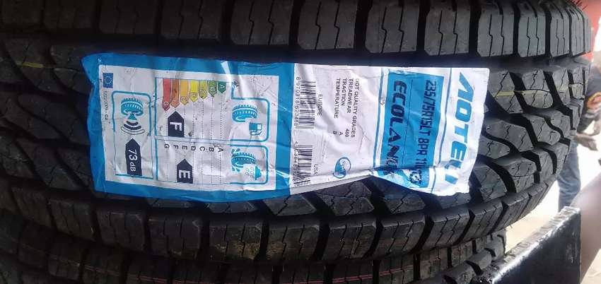 235/75/15 Aoteli AT tyres is made in China 0