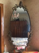 Продам зеркало овальное.Ажурная ковка