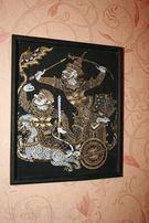 Продам картину из Вьетнама с колесницей Арджуна и Кришны.