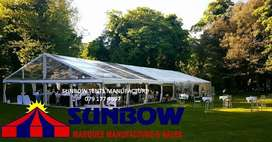 Sunbow marquee and chair hire rentals
