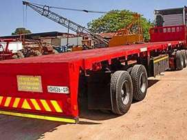 FLAT DECK TRUCKS FOR HIRE ON MONTHLY BASIS