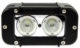 Lampa robocza 2 LED 20W 12-24V halogen prostokątna