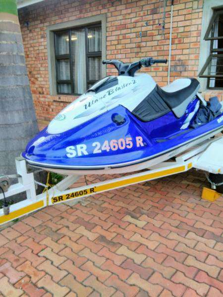 Yamaha Jet Ski .Wave runner 760 with trailer. Racetech. Very good cond 0