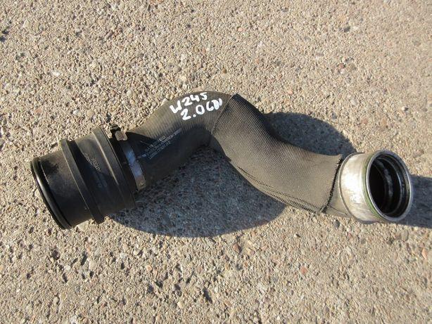 mercedes W245 W169 2.0 cdi rura turbo tłumik szmerów Wołów - image 1