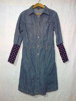 Платье джинсовое р-р 50