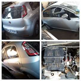 Stripping Fiat Grand Punto Car Spare Parts