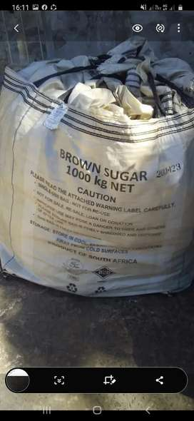 50kg bags and 1 ton bags