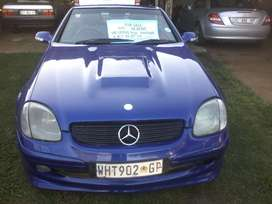 Selling or swop Slk 2001 mod with lexus v8 3uz convertion
