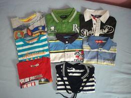 Bluzki koszulki polo,truck,p.nuts,marines original ćwieki