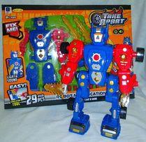 Робот-Конструктор (свет,звук) на батарейке.