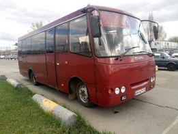 Аренда, заказ Автобуса Богдан, развозка