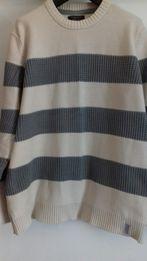 Duży męski sweter sweterek bluzka Reserved XXXL jak nowy