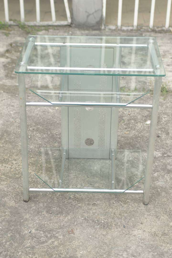Quality smart tv glass stand 0