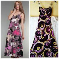 нарядный яркий сарафан в пол, длинное платье летнее