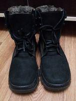 Классные зимние ботинки с мехом.