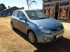 2011 Hyundai i20 1.6 with 76000km