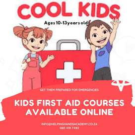 Kids First Aid Courses