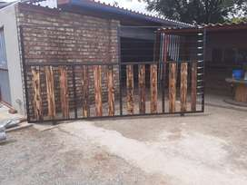 Electric Sliding Gate and Panels