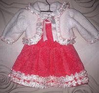 Платье, костюм тепленький