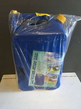25L Blue Plastic Jerry Can- A27069