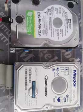"3.5"" hard drives for sale price slightly negotiable"