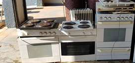 Stove tops and ovens
