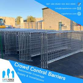 Crowd barriers System/ Self supporting panels/ Custom sizes