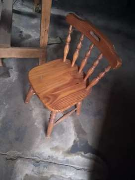 Old chair in good condition no cracks