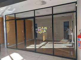 Aluminium & Glass Doors