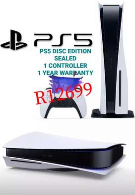 PS5 Blu-ray  Disc Edition