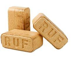 Топливные брикеты RUF, каллорийность 4200ккл. Цена - 4550грн/т