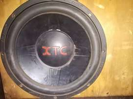 XTC amp and subwoofer for sale