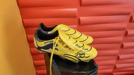 Signed Puma Rugby Boots - Gurthro Edition