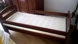 lozeczko drewniane +materac