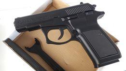 Металлический сувенир зажигалка пистолет Browning