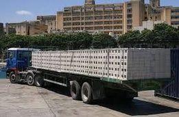 Перевозка-доставка плит перекрытий,газоблока,метала,бытовки Киев и обл