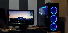 Intel gaming pc + Monitor and peripherals