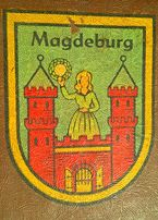 ЧЕМОДАН антикварний <Magdeburg>