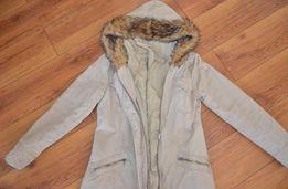 Reporter- mega ciepła kurtka, płaszcz damski