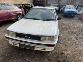 TOYOTA COROLLA 1.6(16v)-STRIPPING FOR SPARES