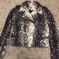 Куртка кожаная косуха Diane Von Vurstenberg