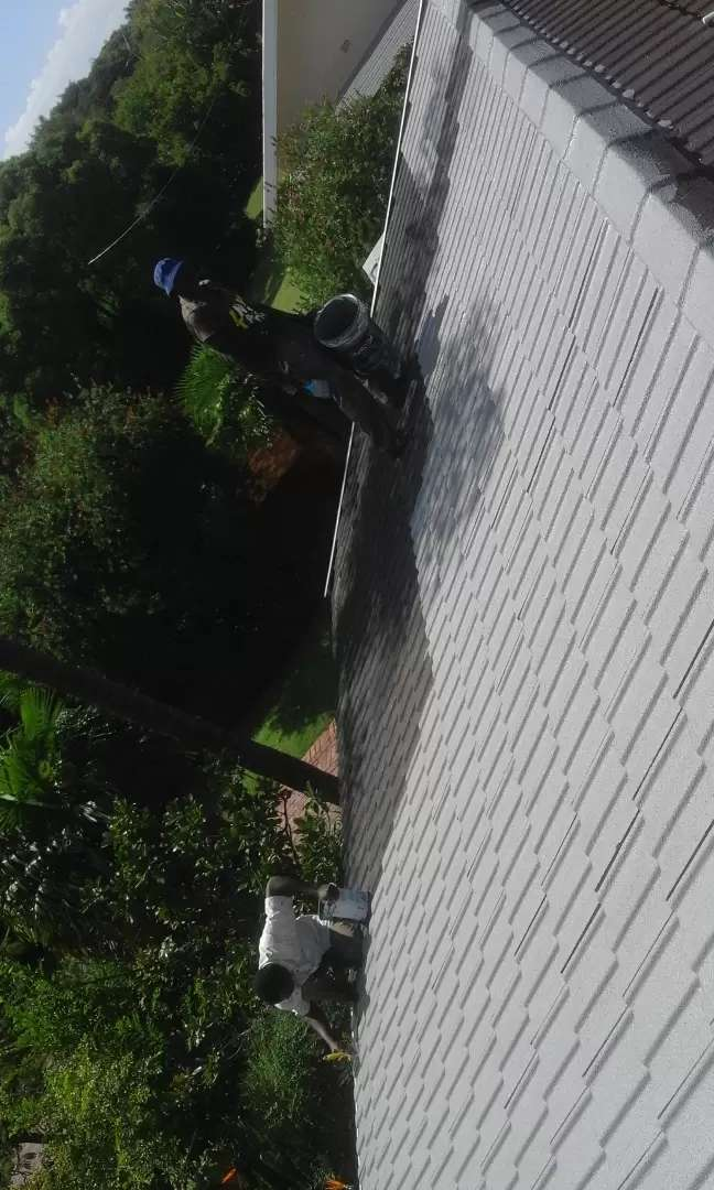 ROOF PAINTING, TILE ROOF AND IRON ROOM PAINTING. 0