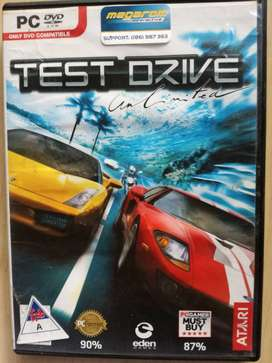 PC DVD ROM GAME TEST DRIVE UNLIMITED RACING