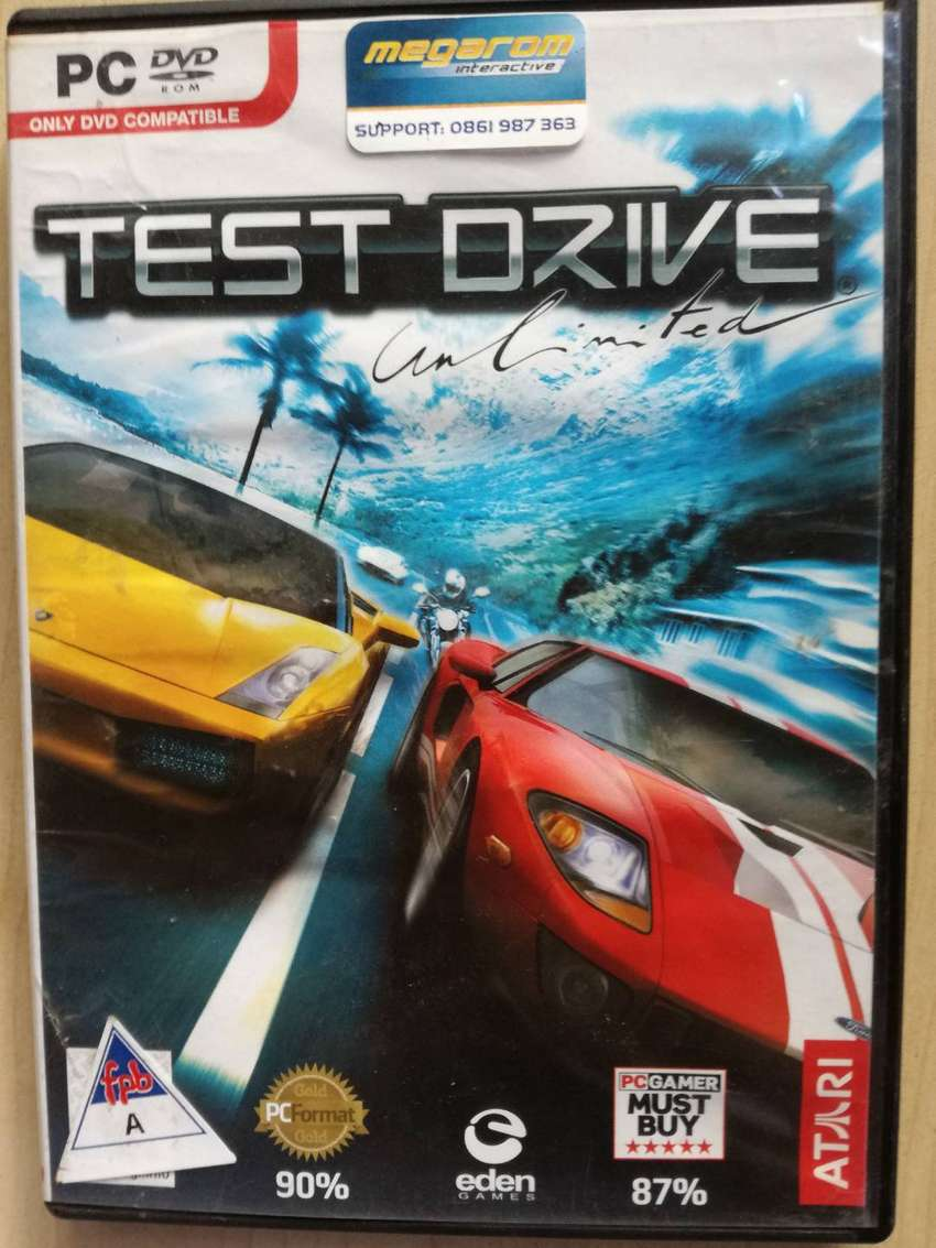 PC DVD ROM GAME TEST DRIVE UNLIMITED RACING 0