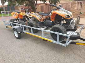 2xQuads and trailer package