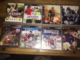 Ps3 games ,60-100 rand a game
