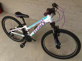"Titan 24"" mountain bike in excellent condition"